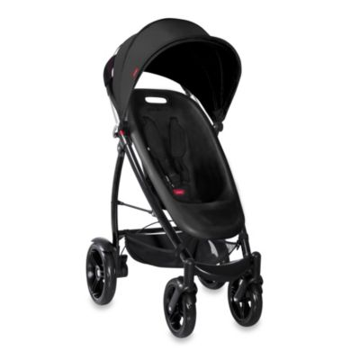 Phil&Teds® Smart™ Stroller in Black