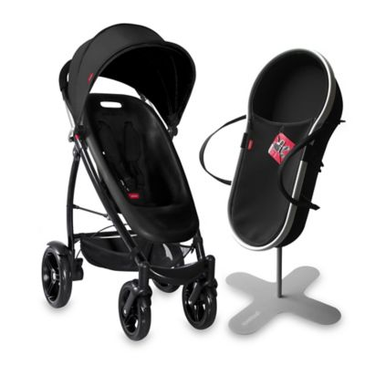 phil&teds® Smart™ Compact Buggy Bundle in Black
