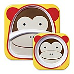 SKIP*HOP® Zoo 2-Piece Melamine Tableware Set in Monkey