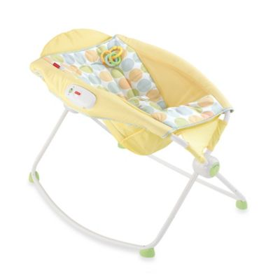 Fisher-Price® Newborn Rock 'n Play™ Sleeper in Yellow - from Fisher Price
