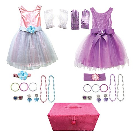 Dress Up Trunk 27-Piece Clothing Role Play Set