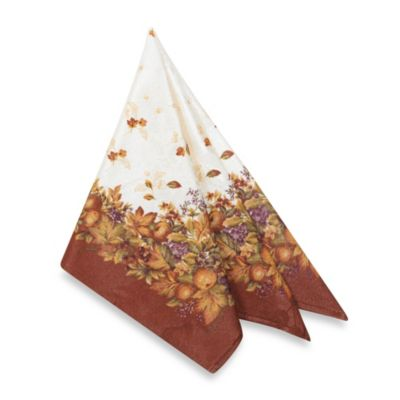Harvest Jubilee Spice 4-Pack of Napkins