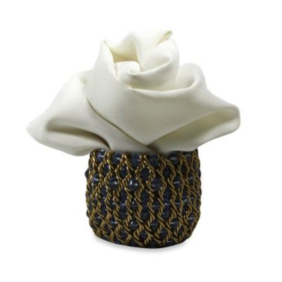 Carmona Braid Napkin Rings (Set of 4)