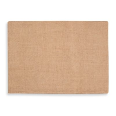 ecoaccents® Natural Burlap Placemat