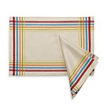 Fiesta Plaid Placemat and Napkin