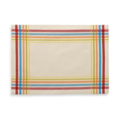 Fiesta Plaid Placemat