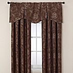 Jacobean Rod Pocket/Back Tab Window Curtain Panels