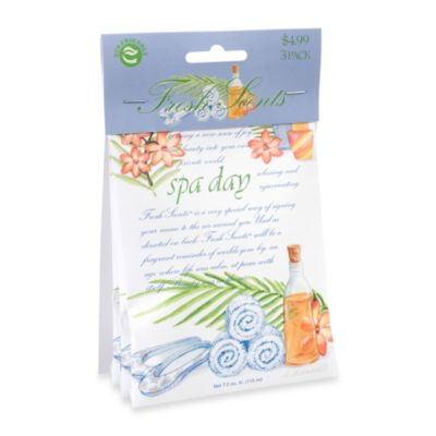 Fresh Scents™ Packet Set of 3 - Spa Day
