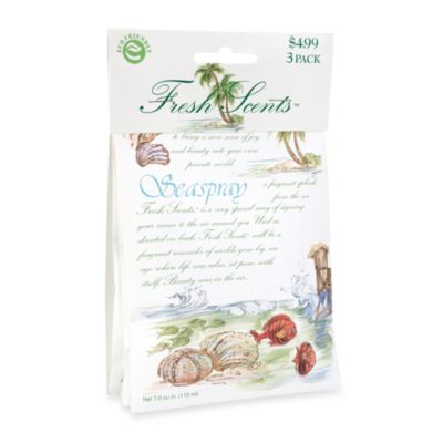 Fresh Scents™ Scent Packets in Seaspray (Set of 3)