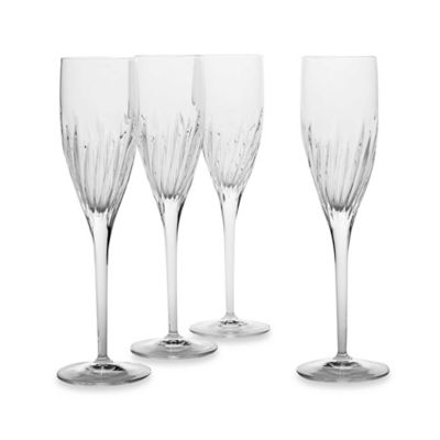 Luigi Bormioli Incanto SON.hyx® Flute Glasses (Set of 4)