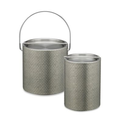 Kraftware™ Cobblestone 2-Quart Tall Ice Bucket in Slate
