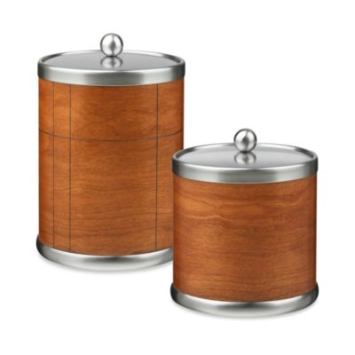 Kraftware™ American Artisan 3-Quart Ice Bucket in Cherry Hardwood Veneer