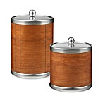 Kraftware American Artisan Ice Bucket in Cherry Hardwood Veneer