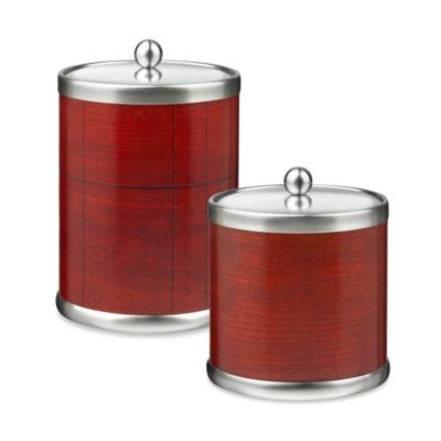 Kraftware™ American Artisan 3-Quart Ice Bucket in Rosewood Hardwood Veneer