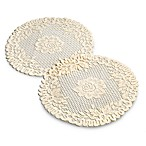 Vienna Lace 15-Inch Round Doilie (Set of 2)