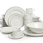 Gibson® Studio Platinum 50-Piece Dinnerware Set