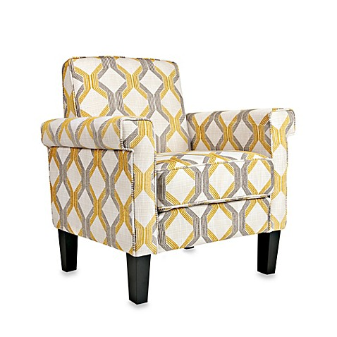 angelo:HOME Ennis Arm Chair in Yellow