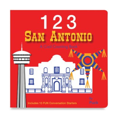 123 San Antonio: A Cool Counting Book™
