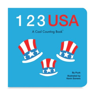 1 2 3 USA - A Cool Counting Book™