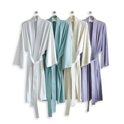 Under the Canopy Organic Cotton Kimono Robe in Cloud