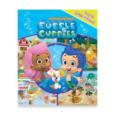 My First Look and Find® Bubble Guppies Board Book