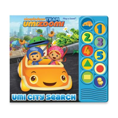 My First Look and Find® Team Umizoomi™ Listen and Learn Board Book