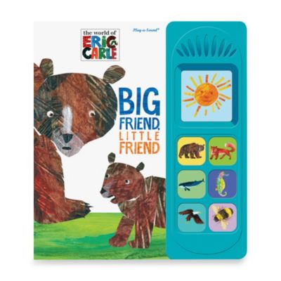 Little Sound Big Friend, Little Friend by Eric Carle Play-a-Sound Book