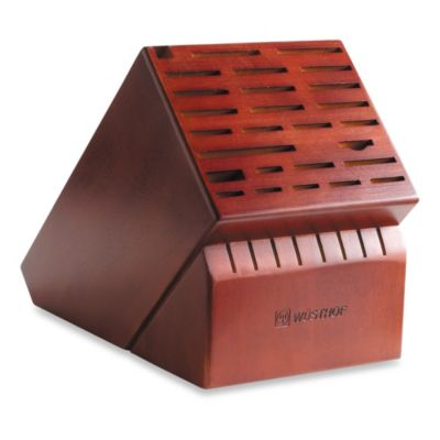 Red Kitchen Knife Block