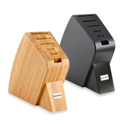 Wusthof® 6-Slot Studio Knife Block in Bamboo