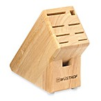 Wusthof® 9-Slot Wood Knife Block