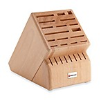 Wusthof® 25-Slot Wood Knife Block