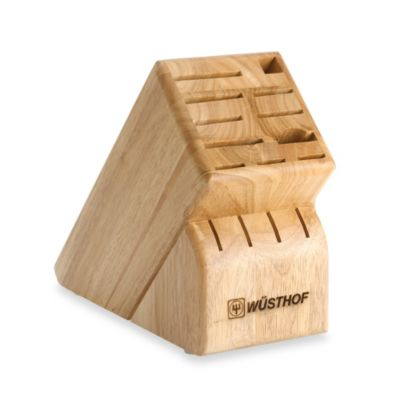 Wusthof® 15-Slot Wood Knife Block
