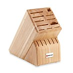 Wusthof® 17-Slot Wood Knife Block