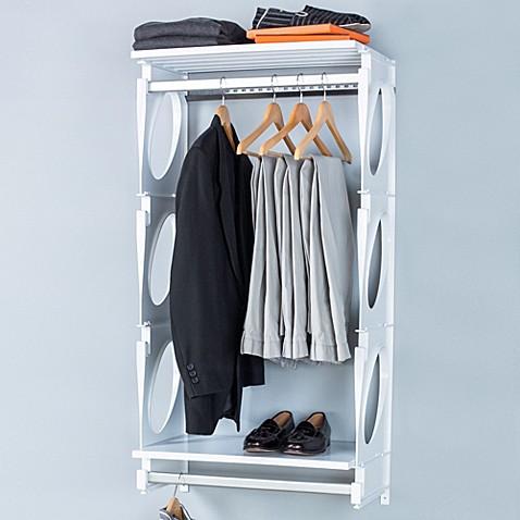 Kio 2 Foot Closet And Shelving Kit Bed Bath Amp Beyond