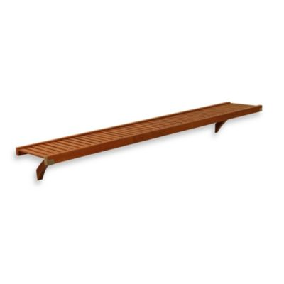John Louis Home Woodcrest 12-Inch Shelf Kit in Caramel