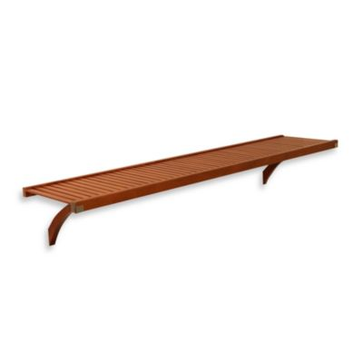John Louis Home Woodcrest 16-Inch Shelf Kit in Caramel