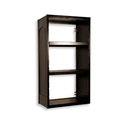 Woodcrest Stand Alone 12-Inch Tower Kit in Espresso