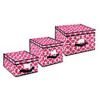 The Macbeth Storage Box Collection in Pink Scout