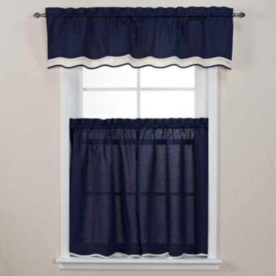 Pipeline 45-Inch Window Curtain Tier Pair in Bone