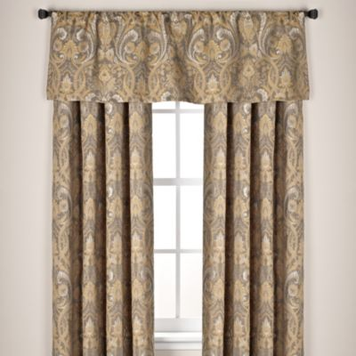"Monaco 63"" Rod Pocket Window Curtain Panel"