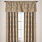 Monaco Rod Pocket Window Curtain Panels and Valance