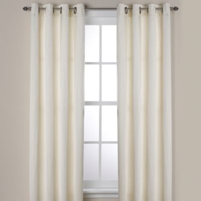 Ashton 84-Inch Grommet Window Curtain Panel in Ivory