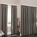 Wraparound Sierra Room Darkening Noise Reducing 2-Pack Window Curtain Panels