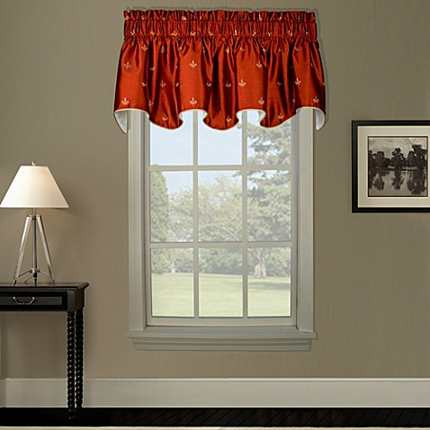 Buy fleur de lis home decor from bed bath beyond Fleur de lis window treatments