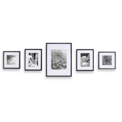 Gallery Perfect 5-Piece Frame Set in Silver