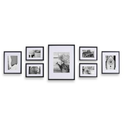 Gallery Perfect 7-Piece Frame Set in Black