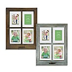4-Opening Windowpane 18.5-Inch x 25-Inch Collage Frame