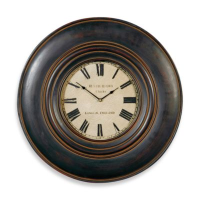 Brown Wall Clock