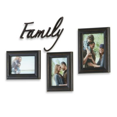 Black Picture Frames Hanging