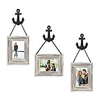 Wall Solution 6-Piece Anchor Frame Set in White